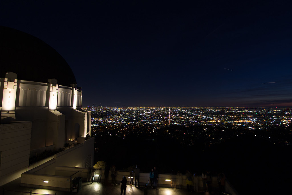 Griffith observatorio, Los Angeles