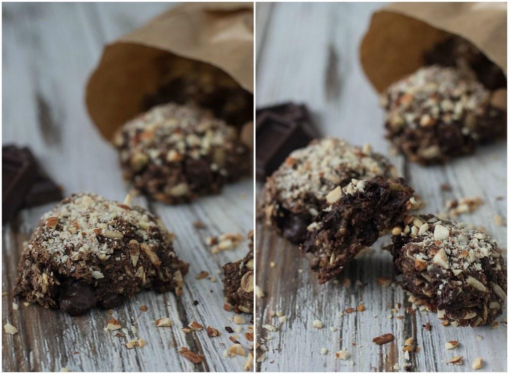 Opskrift på hjemmebagte Rugboller med chokoladestykker - chokorug lagkagehuset