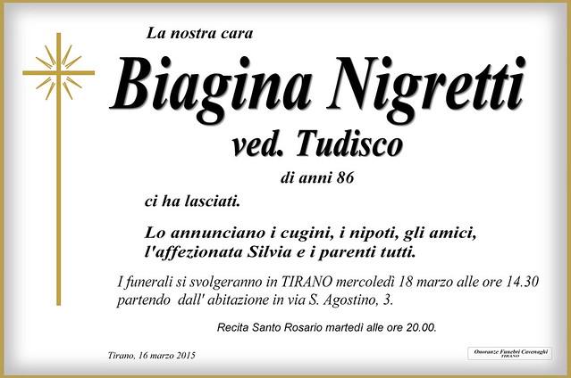 Nigretti Biagina