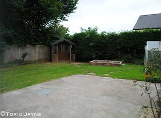 Summer House corner before
