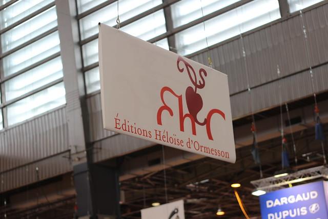Éditions Héloïse d'Ormesson - Salon du Livre de Paris 2015