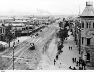 Commercial Road, Port Adelaide. - Photograph courtesy of the State Library of South Australia