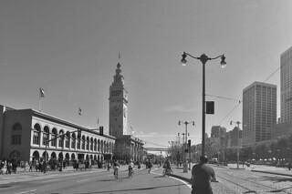Sunday Streets Embarcadero - Ferry Building