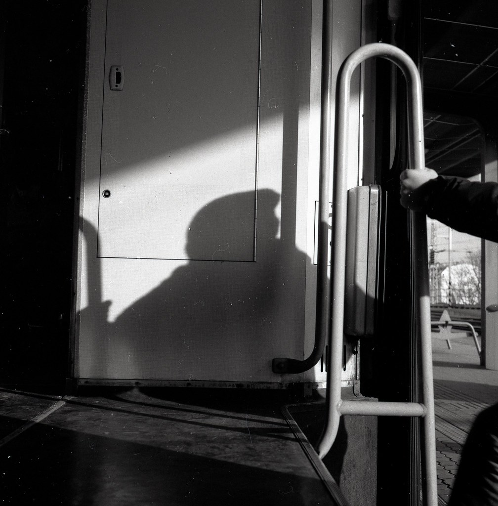 Out in Shadows, Bratislava Train Station, 2015