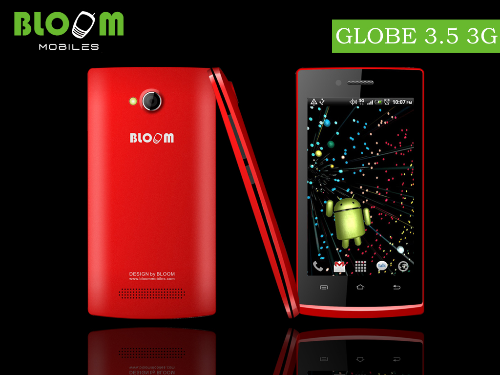 Bloom Smartphone GLOBE 3.5 3G