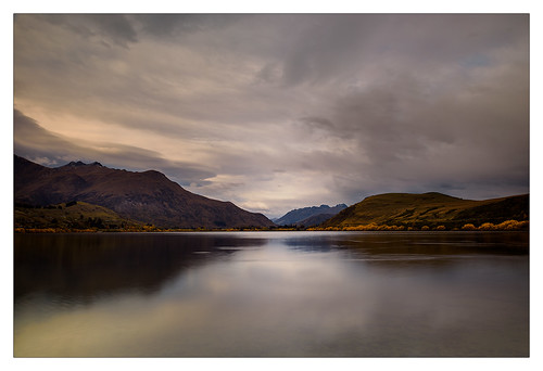 light sunset newzealand mountains clouds mood peaceful southisland lakehayes d810 olgabaldock