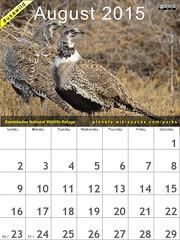 August 2015 National Parks Calendar: Seedskadee National Wildlife Refuge #usawild @USFWSMtnPrairie @SageGrouseInit @BLMNational (attribution-sharealike license)