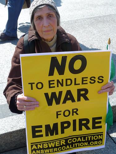 Spring Rising Anti War Rally