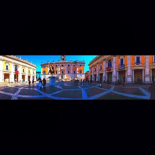 """Piazza Del Campidoglio"" [supersaturated] #campidoglio #piazza #rome #italy #architecture #michelangelo #design #Ρώμη #Ιταλία #рим #италия #архитектура #paulewing #zvuchno #antiquity #renaissance #piazzadelcampidoglio #saturated #color"