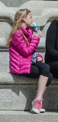 The Girl in the Pink Jacket