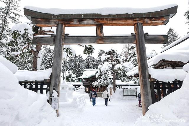 20150214米澤雪燈籠-08上杉神社-1330092