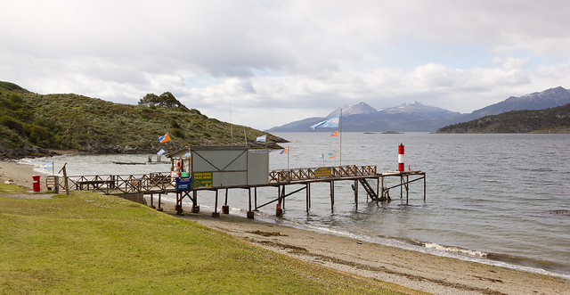 The post office at the end of the world, Parque national Tierra del Fuego, Argentina