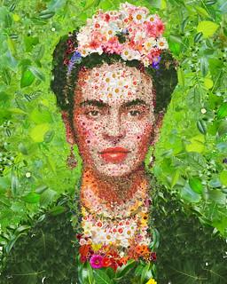 Frida Kahlo for Womankind Australia.