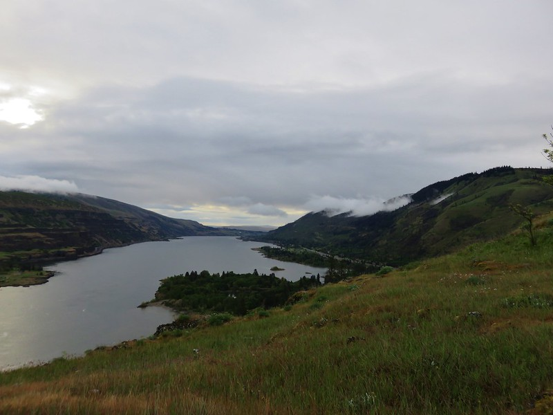 Columbia River from Rowena Crest plateau