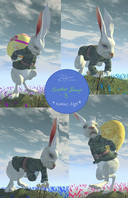 ROQUAI Easter Bunny - B