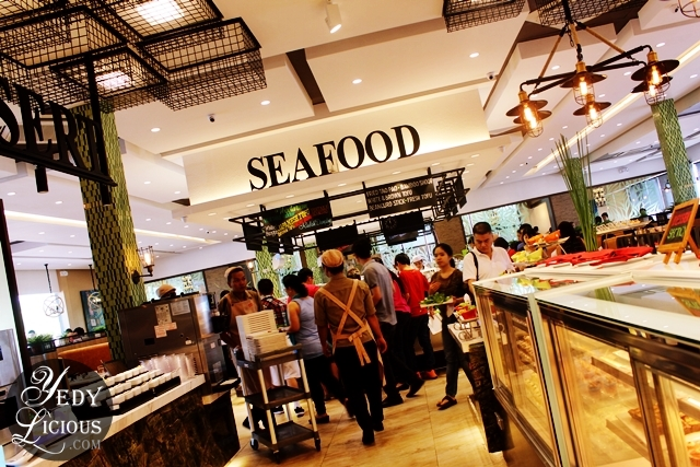 Seafood Section at Four Seasons Buffet HotPot City SM MOA