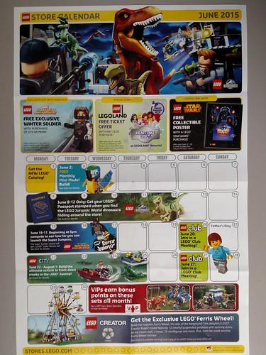 June 2015 Store Calendar