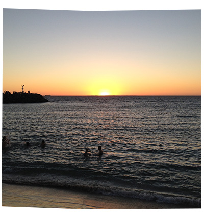 Cottesloe at Sunset, March 2015