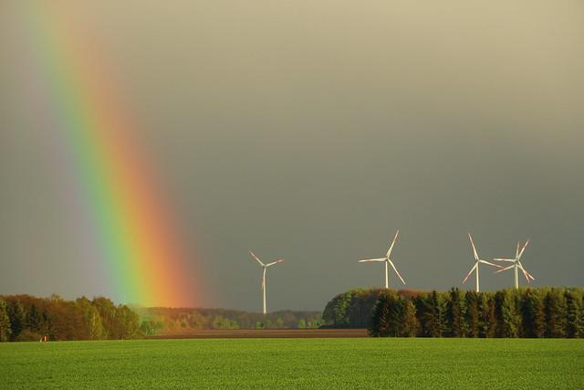 Rainbow & Wind Wheels