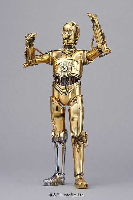 星際大戰 C-3PO 1/12比例組裝模型