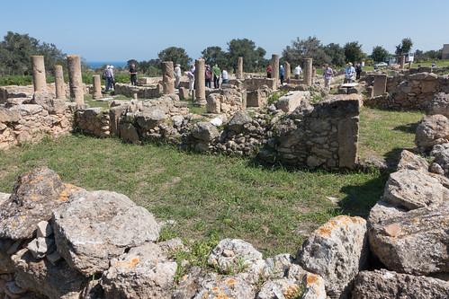 church basilica cyprus baptistery 6thcentury karpas archaeolgy oldruins sipahi turkishrepublicofnorthcyprus incidentalpeople rhkamen