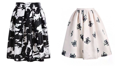 Flare Skirts on a Budget
