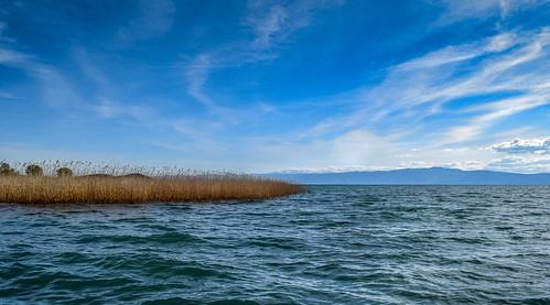 blue light lake clouds landscape nikon waves bluesky macedonia ohrid lakeshore cloudscape lakescape lakeohrid ohridlake cloudsscape nikond5300