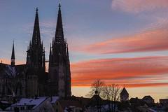 Regensburg Sonnenuntergang