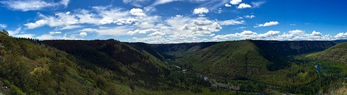High Above the Klickitat River
