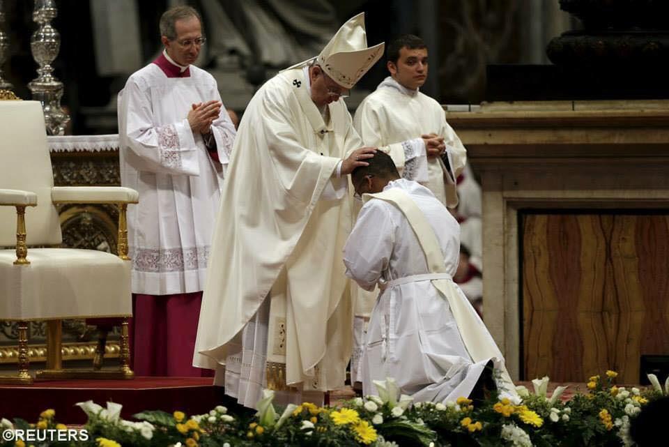 Sứ Điệp Ngày Thế Giới Cầu Nguyện Cho Ơn Gọi Của Đức Giáo Hoàng Phanxicô – Năm 2015