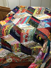 I took my first quilt class in a very long time. I learned a different way to do