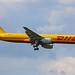 G-BIKX Boeing B757-236(SF) DHL Airways Heathrow 08th May 2016 by michael_hibbins