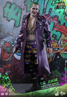 Hot Toys – MMS382 – 自殺突擊隊【紫色大衣小丑】The Joker Purple Coat Ver. 1/6 比例人偶作品
