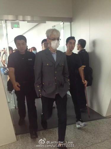 more BIGBANG arrival Shenzhen 2015-08-07 (14)
