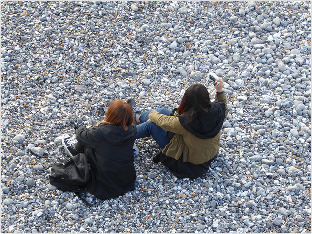 Birling Gap Selfie