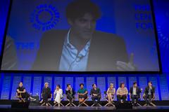 Tim Stack, Jane Lynch, Lea Michele, Chris Colfer, Amber Riley, Mark Salling, Heather Morris, Dot-Marie Jones, Darren Criss and Chord Overstreet