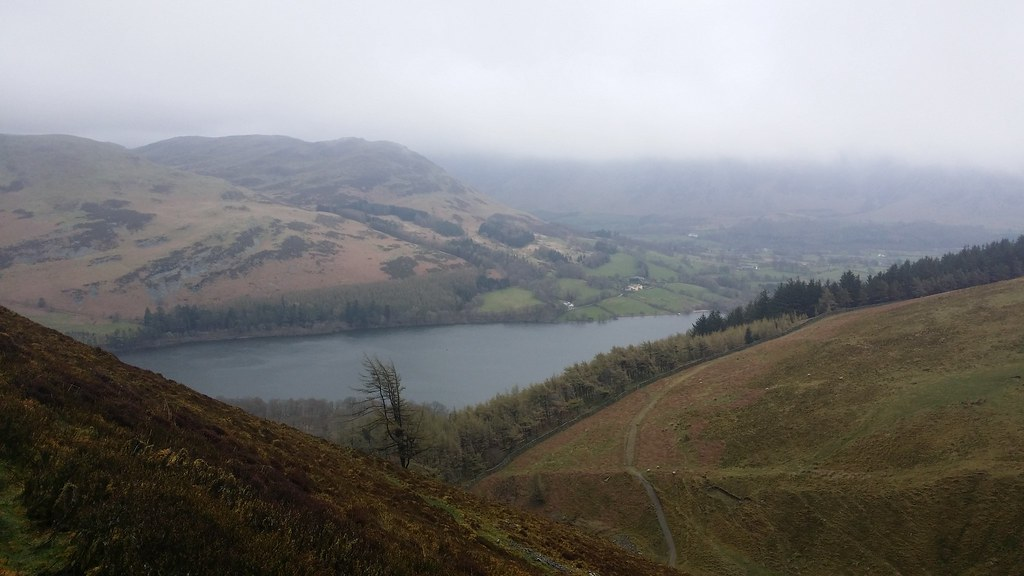 Looking down on Loweswater #sh
