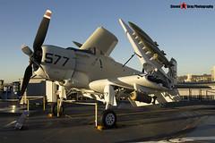 127922 NE-577 - 7937 - US Navy - Douglas AD-4W Skyraider - USS Midway Museum San Diego, California - 141223 - Steven Gray - IMG_6814