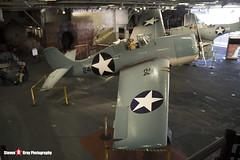 12290 - US Navy - Grumman F4F-3 Wildcat - USS Midway Museum San Diego, California - 141223 - Steven Gray - IMG_6459