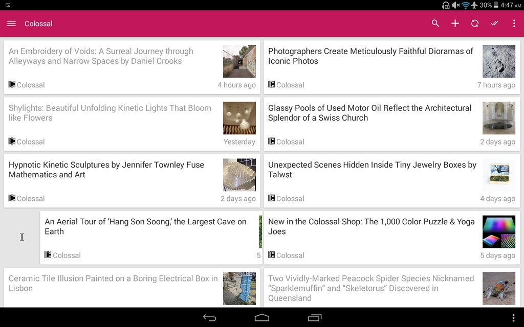 Feedly Reader Helpix
