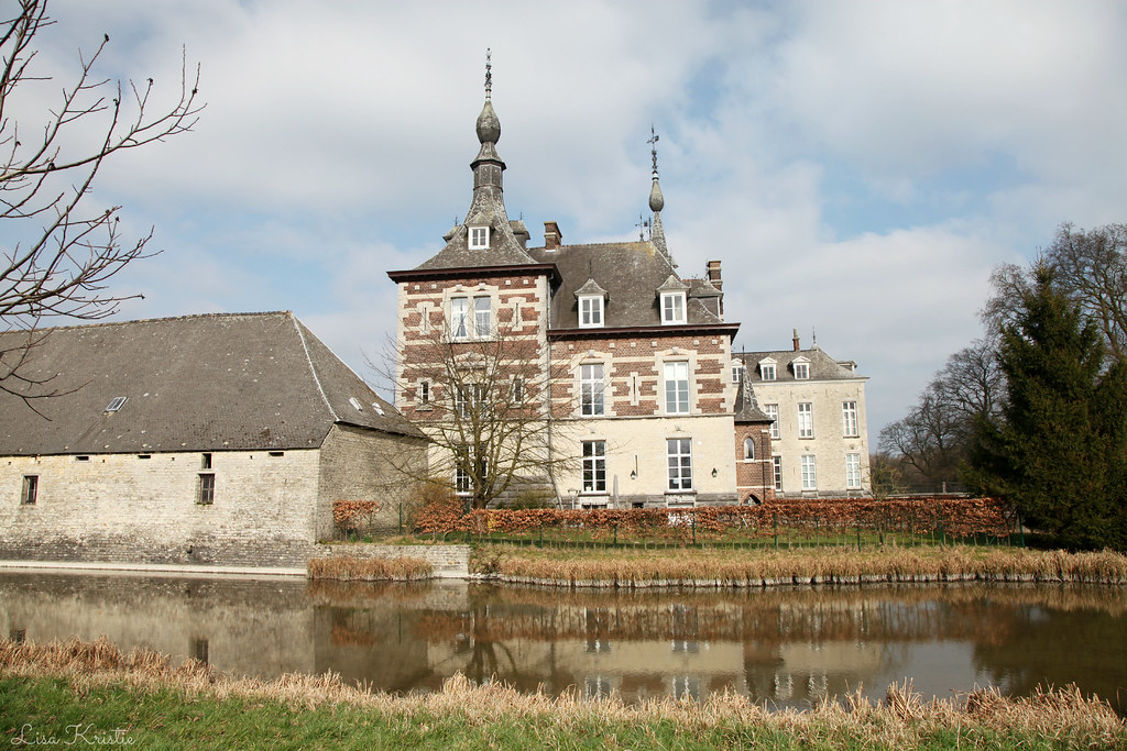 old europe castle estate european belgium belgian property visit private water