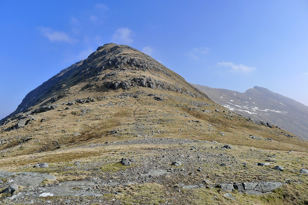 The west ridge of Sgurr Choinnich