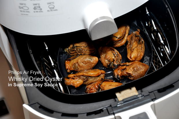 Caramelised Dried Oyster with Philips Airfryer 1