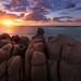 Rock pillars by Dylan Toh