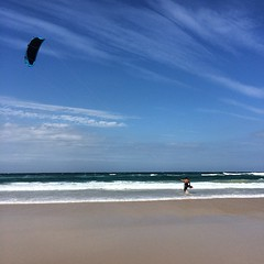 A tad windy today kite surfing anyone? #goldcoast #beachlife #beachwalk