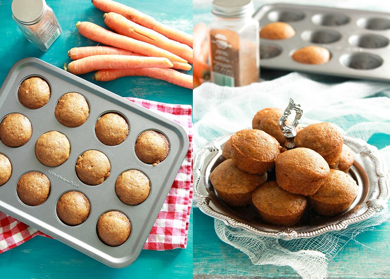 Wholewheat Carrot Muffins