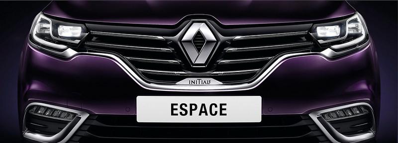 Передний бампер Renault Espace Initiale Paris
