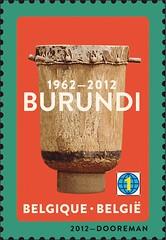 10b Burundi 1962-2012 timbre