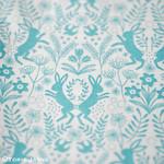 'Little Hares Blue' fabric from Elephant in my Handbag.com