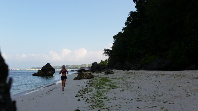 Boracay White Beach run